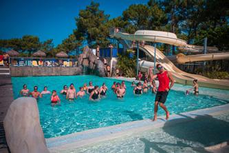 Camping & Spa Airotel L'Océan Lacanau activités