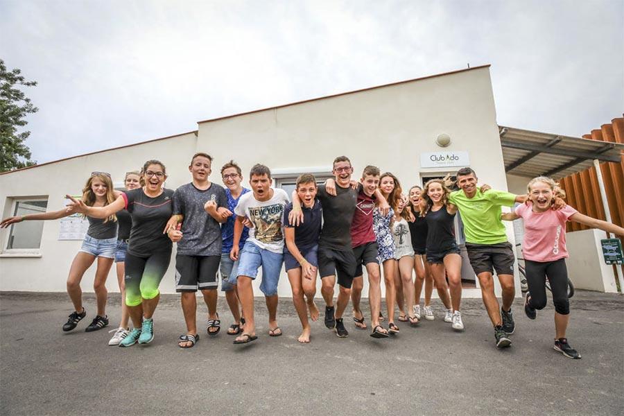 camping argeles club ados marsouins