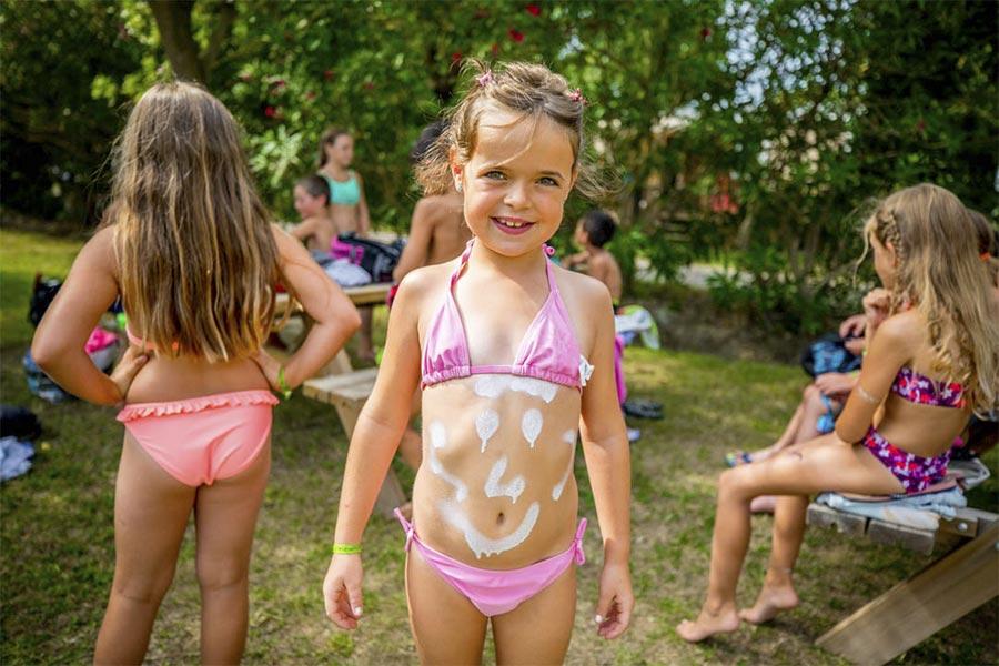 camping argeles club enfants marsouins