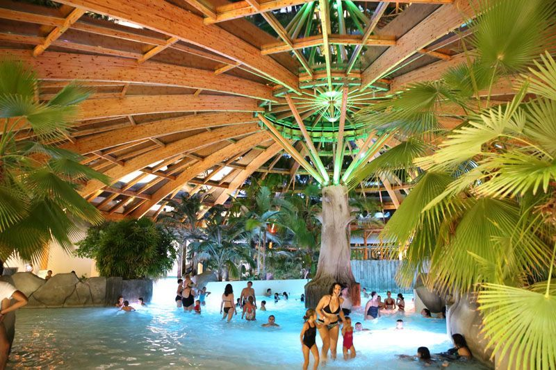 Camping & Spa Airotel L'Océan Lacanau parc aquatique